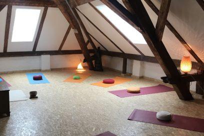 Yoga in der Steinberg-Oase